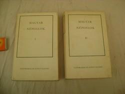 Magyar népdalok I.- II. kötet - 1975