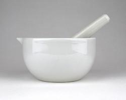 1A647 Antik Drasche porcelán patika mozsár