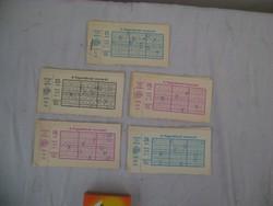 Negyvenöt darab 1978-as nyeretlen lottószelvény