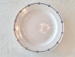 Régi fajansz tányér Villeroy & Boch kínáló szecessziós asztalközép