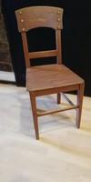 Támlás paraszt szék, konyhai szék, vintage, dekor