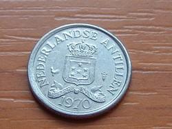HOLLAND ANTILLÁK 10 CENT 1970 VERDE: KAKAS ( KEDVEZMÉNY LENT!!)