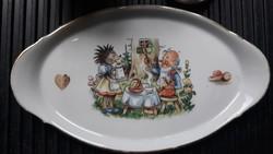 Retro mese porcelán/Baba porcelán/gyerek porcelán-keresztelő ajándék