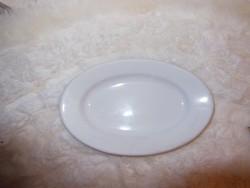 Porcelán - nagyon régi - BAVARIA Eamag - csontos tányér - 21 x 13.5 x 3 cm - alján lepattanás