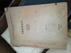 Erdészet Szőnyi László kézirat