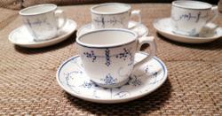 Gyűjtőknek! Antik (1874-1909), gyermek teáscsészék, Villeroy&Boch Dresden, ritkán fellelhető