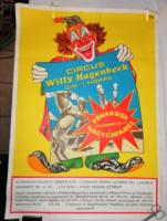 Fővárosi Nagycirkusz plakát Willy Hagenbeck Dir.I. Hope