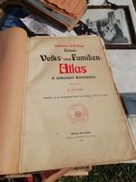 VOLKS UND FAMILIEN ATLAS 1901