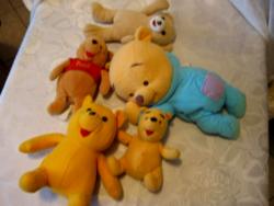 4 Winnie The Pooh Mici mackó +Coccolino maci