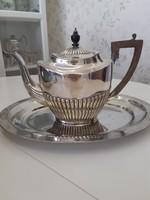 Angol teás kiöntő ezüstözött