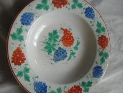Rózsás tányée régi fali tányér