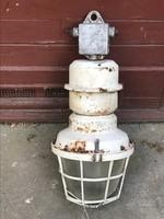 Vintage Ipari lámpa, indrustial lamp.
