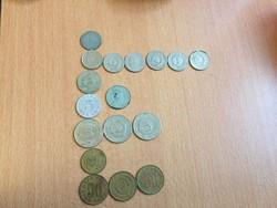 17 db dinar 1953-1980