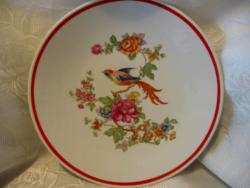 Zsolnay paradicsommadaras fali tányér