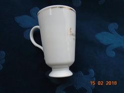 1894 KARLSBAD felirattal Biedermeier kúra pohár