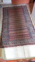 Régi antik kézi csomózású szőnyeg, 175 x 100 cm...