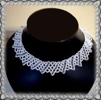 Esküvői gyöngy nyaklánc SL-GY08-2