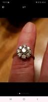 Kiváló minőségű, szép tiszta, fehér Gyémánttal! Brilliáns ! LUPENREIN