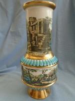 Antik olasz fajansz váza