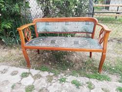 Antik szecessziós kis kanapé / thonet kanapé  - Bp-re és pár közeli településre házhoz szállítom