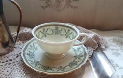 Porcelán  talpas teáscsésze empire stílusban - Krautheim Selb Bavaria
