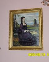 Lilaruhás nő-Szinyei után-Erős F. 1996!!