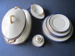 Czecho-Slovákiai porcelán étkészlet