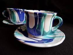 Gmundeni (Gmundner Keramik) teás/hosszú kávés szettek