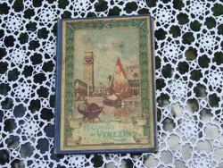 Velencei képeslapok leporelló, fekete-fehér