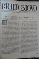 MULT ÉS JÖVŐ 1924 - TELJES ÉVFOLYAM -  JUDAIKA