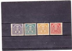 Ausztria újság bélyegek 1920