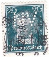 Német birodalmi bélyeg 1926