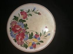 Városlődi fali  tányér