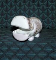 Víziló Aquincum porcelán
