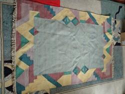 Modern  indiai ? Gabbeh ? szőnyeg,  mintás kézi csomózású gyapjú pamut szőnyeg modern rug
