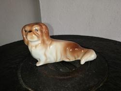Drasche porcelán kutya , nipp, figura. Nosztalgia darab