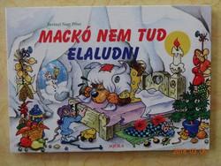 Mackó nem tud elaludni - leporelló mesekönyv Berényi Nagy Péter rajzaival