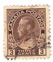 Kanada forgalmi bélyeg 1918
