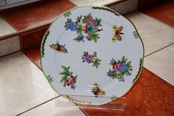 Herendi Viktória tányér tál kínáló 30 cm