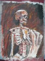 Ismeretlen: Csontváz