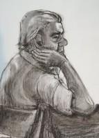 Ismeretlen: Férfi portré