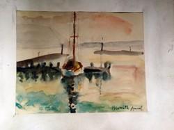 Bernáth Aurél: Kikötő