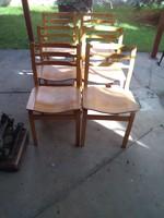 Retró hajlított székek.