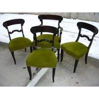 Régi  karszék és támlás szék