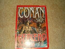 Conan saga és punisher mvgtorló képregény ifjusági irodalom 1 ft jó licitálást KIÁRUSÍTÁS