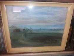 Veres Rozália képcsarnokos festménye