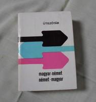 Magyar-német, német-magyar útiszótár (Terra szótár, 1988)