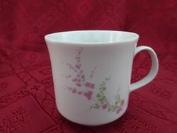Alföldi porcelán kávéscsésze, magassága 7,5 cm, átmérője 7 cm.