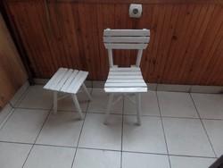 2 db paraszti szék