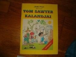 Tom Sawyer kalandjai Mark Twain  képregény ifjusági irodalom 1 ft jó licitálást KIÁRUSÍTÁS